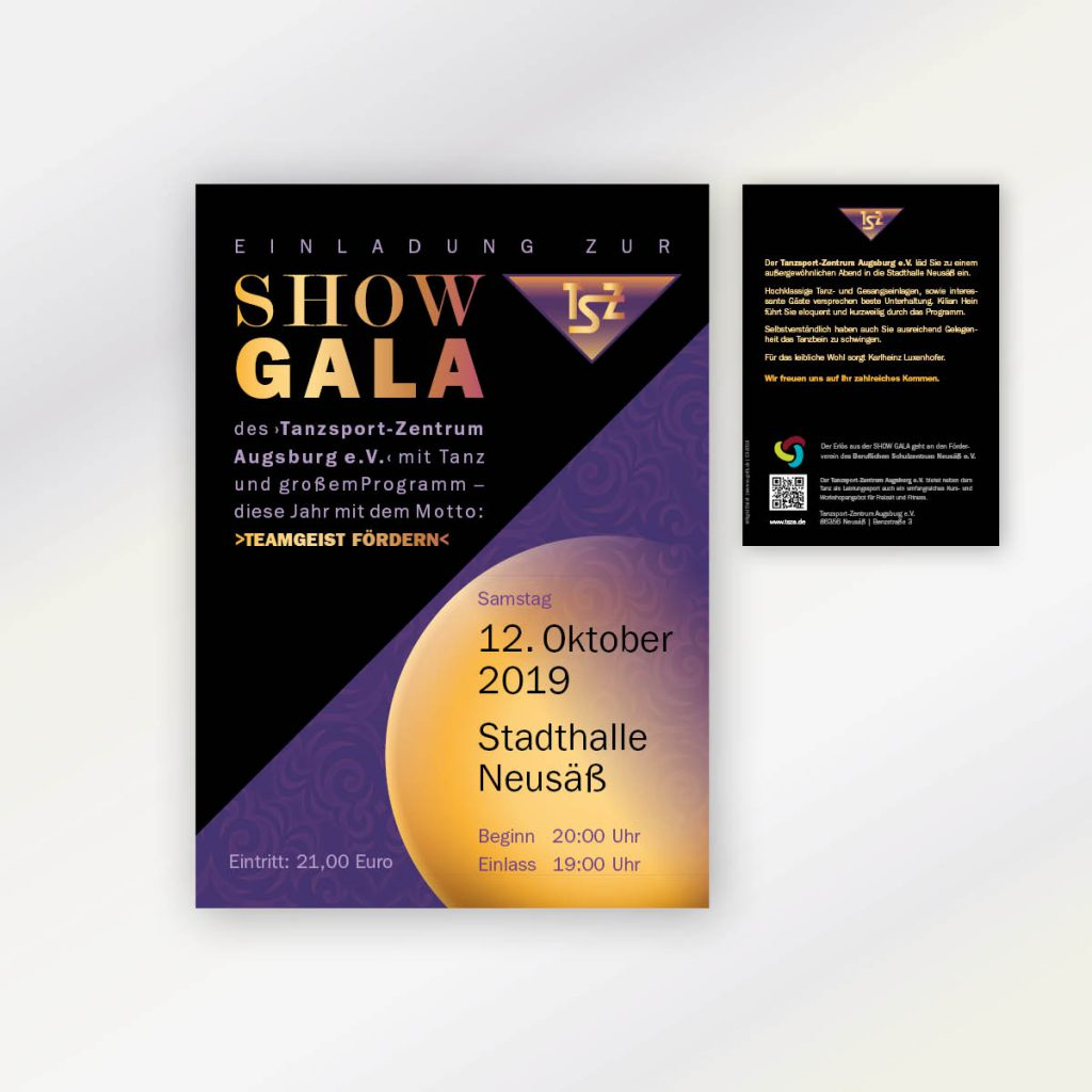 Flyer Werbung Veranstaltung